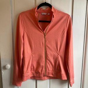NWOT Lady Hagen Pink Full Zip Up Golf Jacket